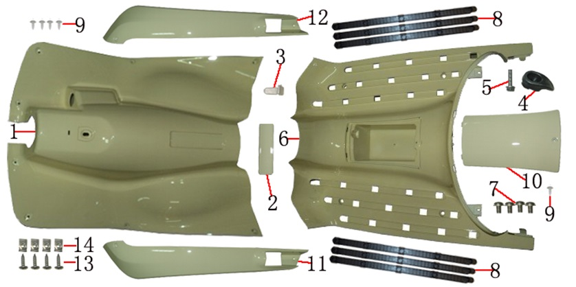 F06 FOOT COVER