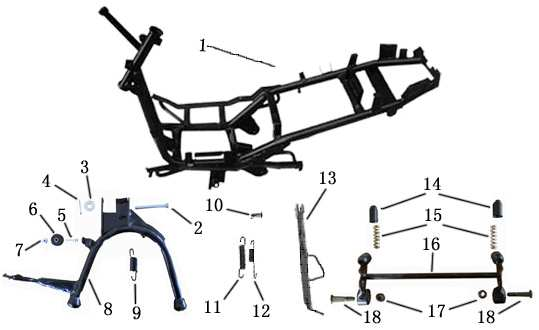 F13 Frame Stands Engine Hanger