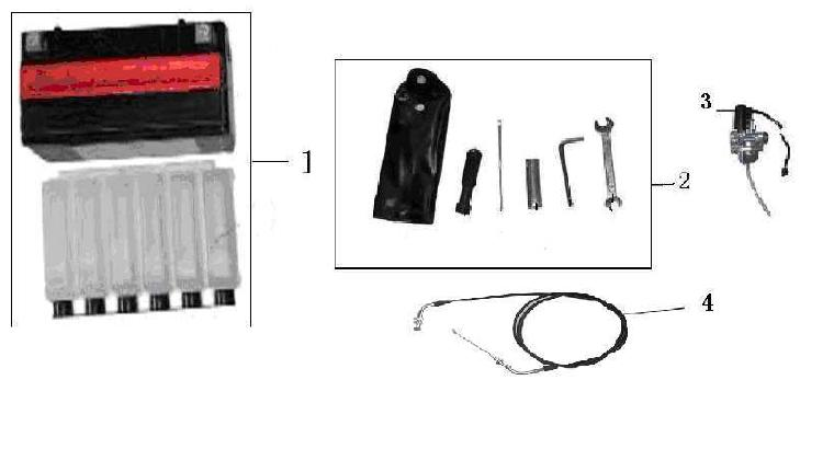 F19 Battery Carburetor Tool Kit