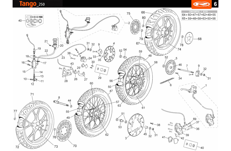 F06 Front and Rear Wheel