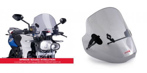 SPEEDS Halter f. EVOLUTION Windschild KAWASAKI ER-6N, Z1000