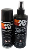 AIR FILTER OIL AND CLEANING KIT (For S&B and K&N filters only)