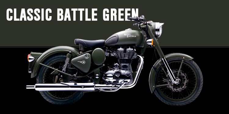 Classic 500 EFI Battle Green